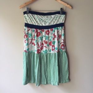Tops - Multi Print Tube Top/Dress